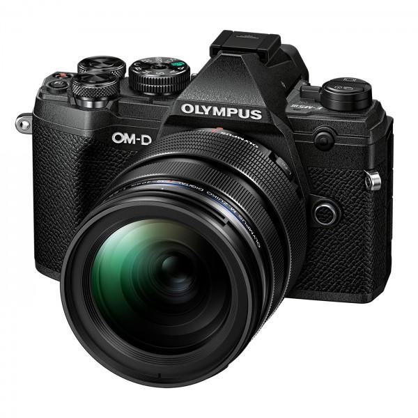 Olympus E-M5 Mark III Set +12-40mm, schwarz