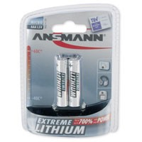 Ansmann Micro (AAA) Lithium, 2 Stück
