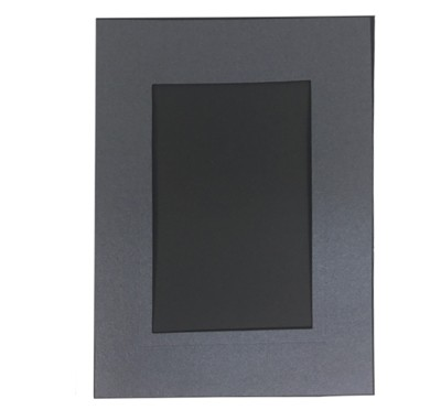 Schoeller Leporello 10x15cm, schwarz