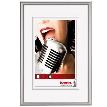 "Hama Alu-Rahmen ""Chicago"" DIN A4, silber"