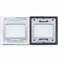 Gepe KB Diarahmen m.Metallm. 3mm 2xAN-Glas, 20 St.