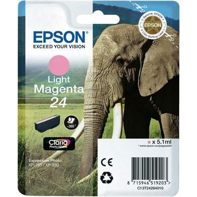 Epson Tinte (T2426) Light Magenta 24 ClariaPhotoHD