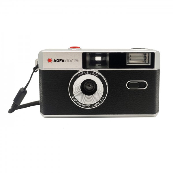 Agfa Photo Analoge 35mm Kamera, schwarz