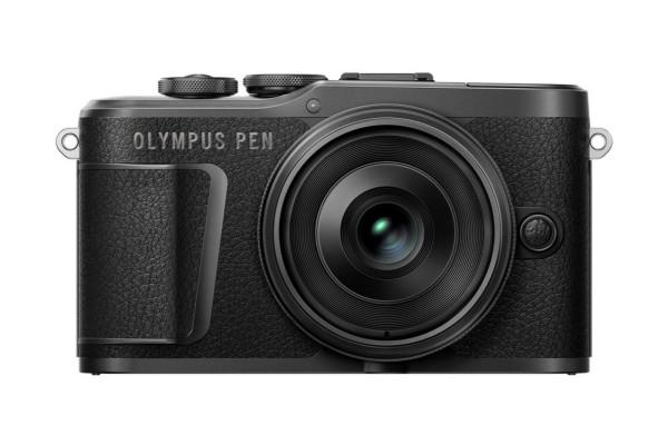 Olympus PEN E-PL10 Set+14-42 II EZ Pancake schwarz