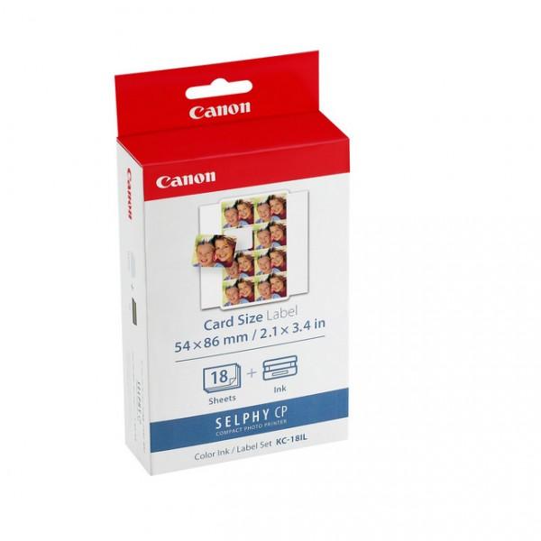 Canon KC-18IL Tinte/Papier Ministicker – 18 Blatt