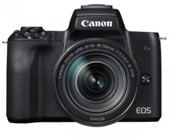 Canon EOS M50 Mark II Set + 18-150mm, schwarz