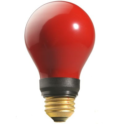 Dunkelkammerlampe 15W E27 rot