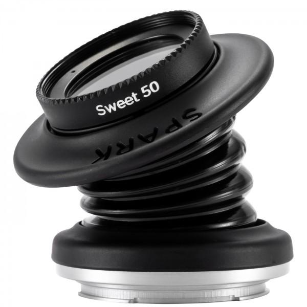 Lensbaby Spark 2.0 + Sweet 50 für Fuji X