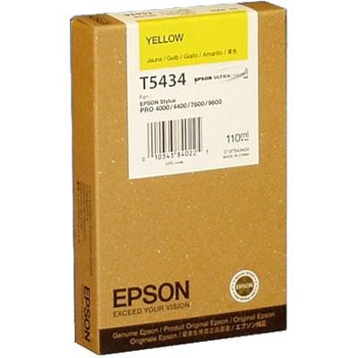 Epson Tinte (T543400) gelb für Pro 4000, 9600