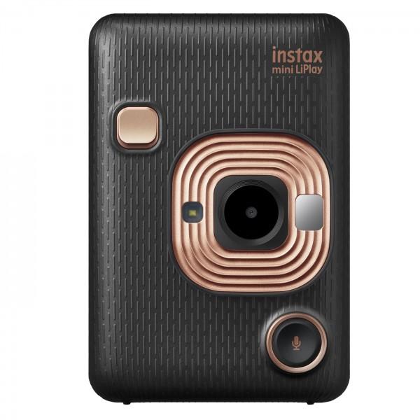 Fuji Instax Mini LiPlay Sofortbildkamera, schwarz