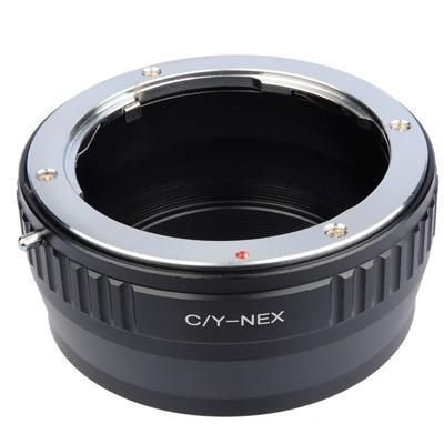 B.I.G. Objektivadapter Contax/Yashica an Sony E