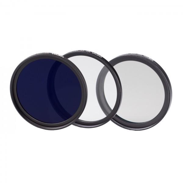 LAOWA Filterset 49mm (UV slim, Pol slim, ND1000)