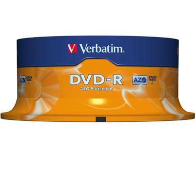 Verbatim DVD-R, 4,7 GB, 25er Spindel