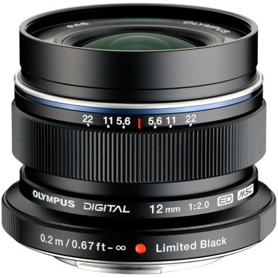 Olympus M. Zuiko Digital ED 2,0/12mm, schwarz