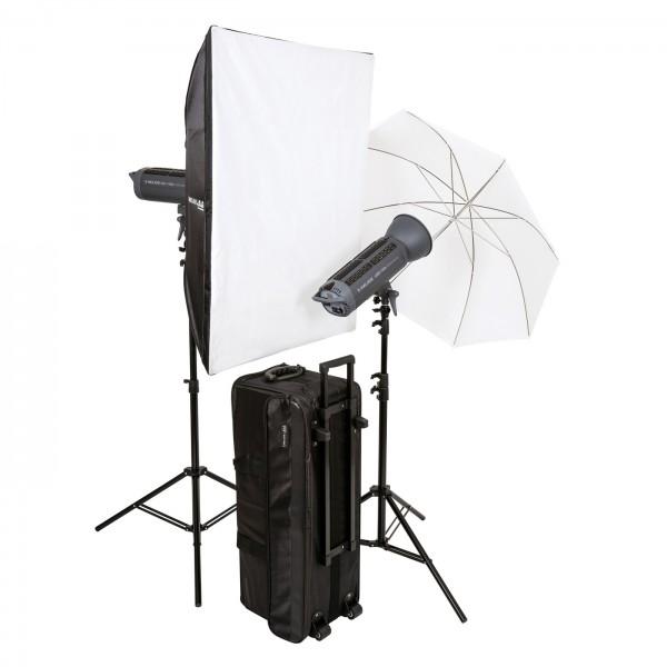 HELIOS LED-150s Performance Studioleuchte 2er-Set