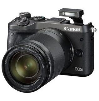 Canon EOS M6 Set + EF-M 18-150mm IS STM schwarz