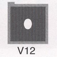 Cromatek Vignetten grau oval klein V12