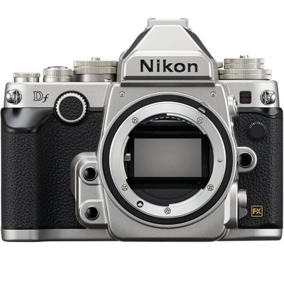 Nikon Df Gehäuse, silber