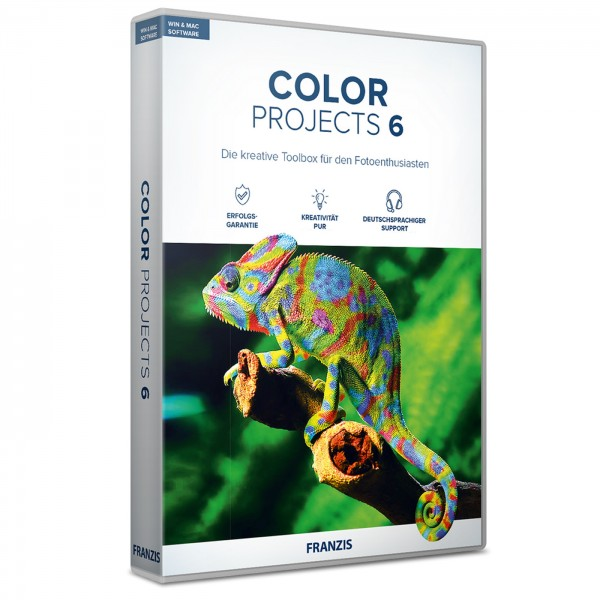 Franzis Color projects 6 Software