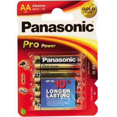 Panasonic Batterie Mignon (AA/LR6) - 4 Stück