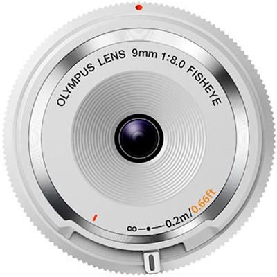 Olympus BCL-0980 8,0/9mm Fish-Eye, weiß