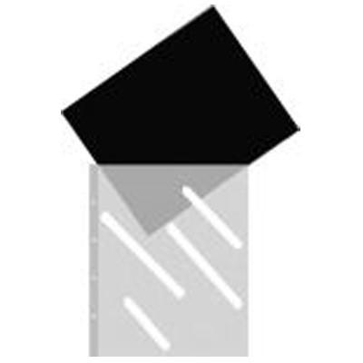 Klarsichthüllen 45x63cm, 10 St., schwarz