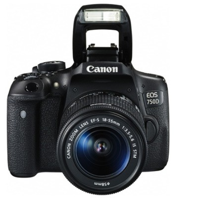 Canon EOS 750D Set + EF-S 18-55 mm IS STM