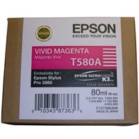 Epson Tinte (T580A) vivid magenta für 3880