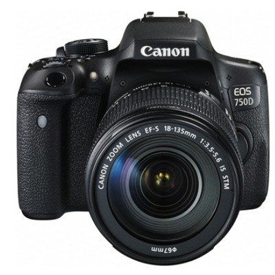 Canon EOS 750D Set + EF-S 18-135 mm IS STM
