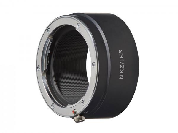 Novoflex Adapter Nikon Z für Leica R Objektive