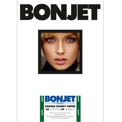 BONJET PhotoArt CANVAS GLOSSY DIN A4, 50Bl., 240g