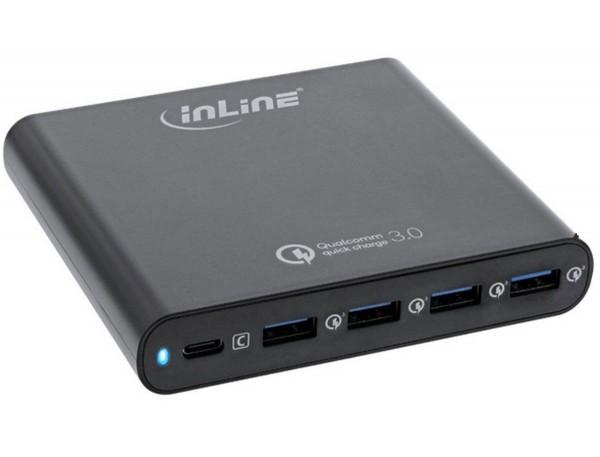 InLine Quick Charge 3.0 USB Schnellladenetzteil
