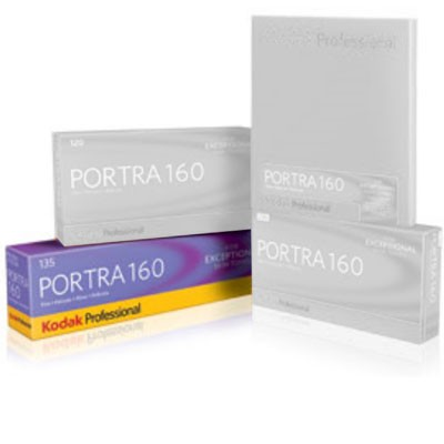 Kodak Professional Portra 160 135/36 5er Pack