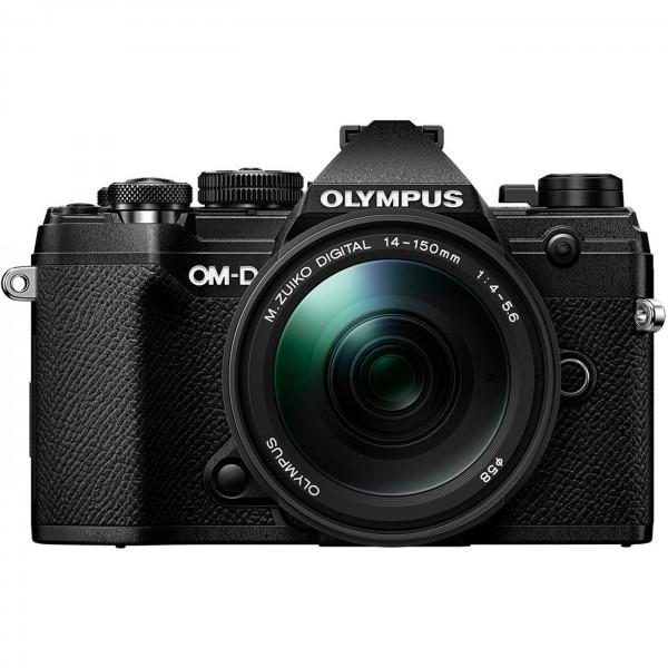Olympus E-M5 Mark III Set +14-150mm, schwarz