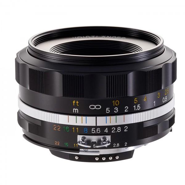 Voigtländer Ultron 2/40 asph.SLII-S schwarz .Nikon