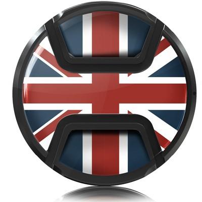 Kaiser Objektivschutzdeckel Motiv Union Jack 77mm