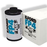 Ilford FP 4 plus S/W-Film 35mm x 17m