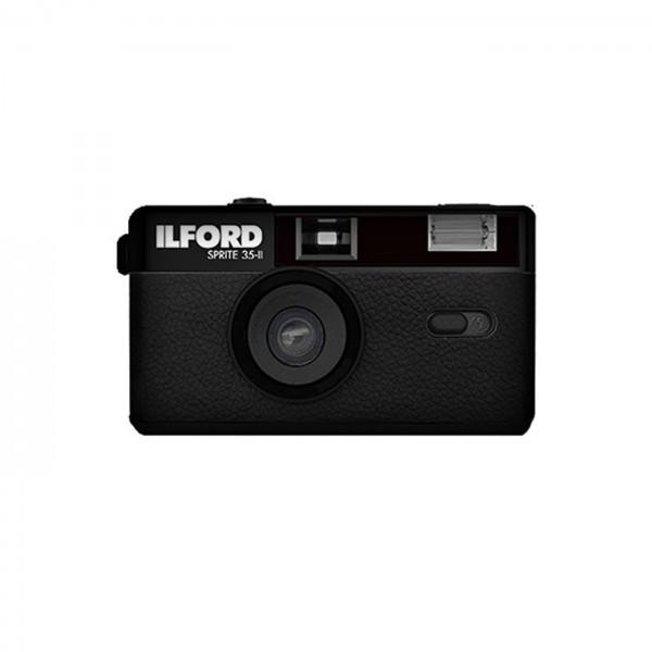 Ilford Sprite 35-II analoge KB Kamera, schwarz