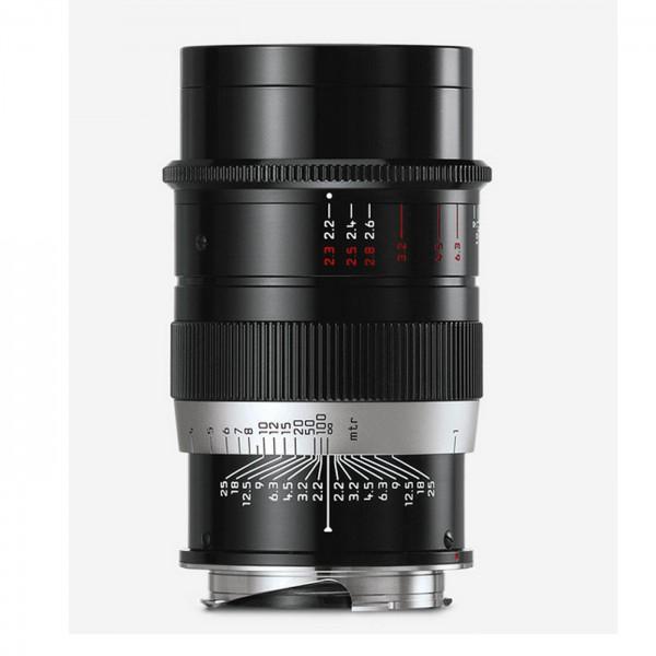Leica THAMBAR-M 2,2/90 mm, schwarz lackiert