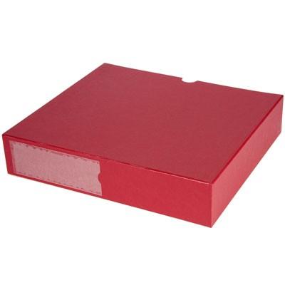 B.I.G.Staubschutzbox dunkelrot für Foto-Ordner 200