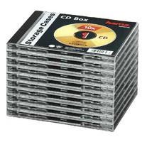 Hama CD-Leerhüllen Jewel Case, 10er Pack