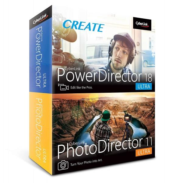 CyberlinkPowerDir 17 Ultra&Photo Director 10 Ultra