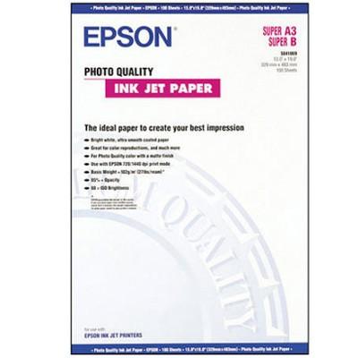 Epson Photo Quality InkJet 102g., 100 Bl., A3+