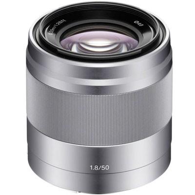Sony SEL 1,8/50mm OSS, silber