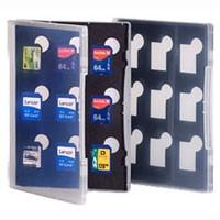 Gepe Card Safe Store SD f. 9x SD Card, transparent