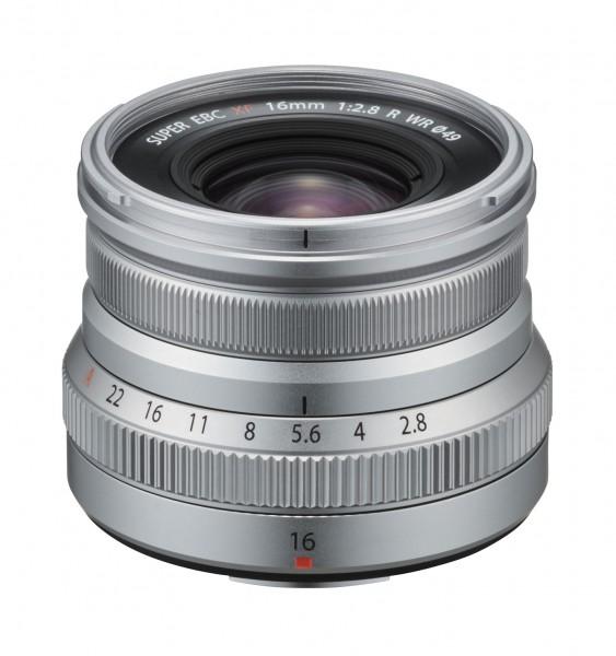 Fuji FUJINON XF 2,8/16mm R WR, silber