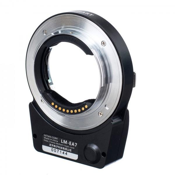 Techart Pro AF Adapter LM-EA7 Leica M an Sony E
