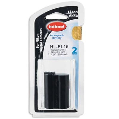 Hähnel Akku HL-EL15 Typ Nikon EN-EL15