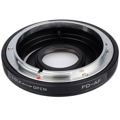 B.I.G. Objektivadapter m. Linse Canon FD an Sony A