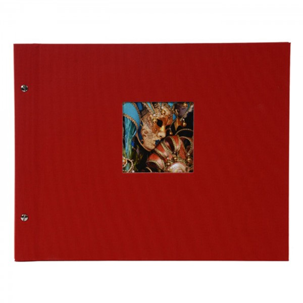 Goldbuch Bella Vista Schraubalbum 39x31, rot